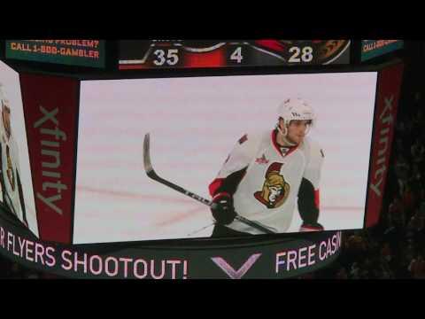 Ottawa Senators vs Philadelphia Flyers 3/28/17 - Full Live Shootout