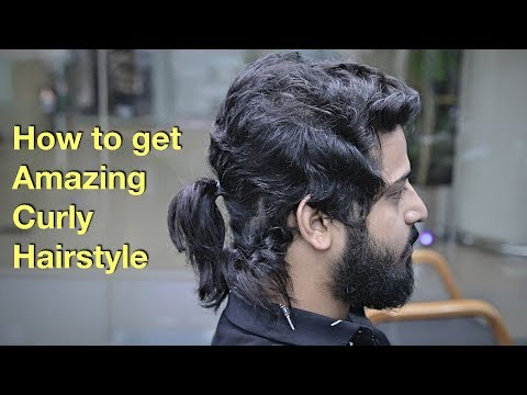 Epic Hair Makeover - Amazing Natural Curly Hairstyle for Men ♥️ thumbnail