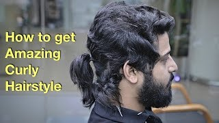 Epic Hair Makeover - Amazing Natural Curly Hairstyle for Men...
