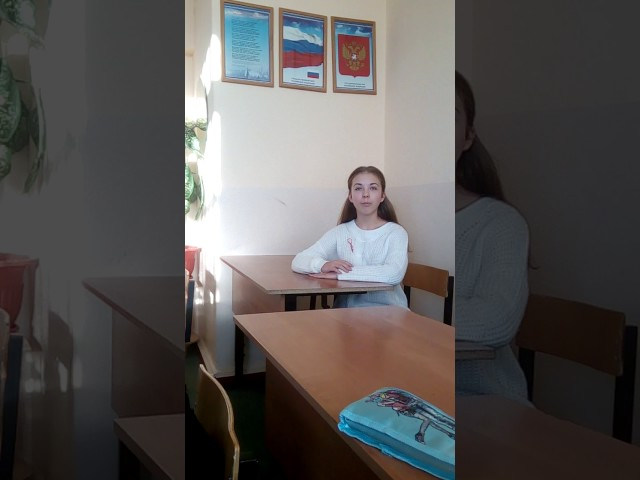 Изображение предпросмотра прочтения – АнгелинаКуликова читает произведение «Обоз» И.А.Крылова