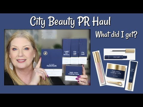 City Beauty PR Haul - What did I get?