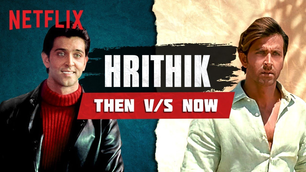 Hrithik Roshan's 10 Year Transformation | Netflix India