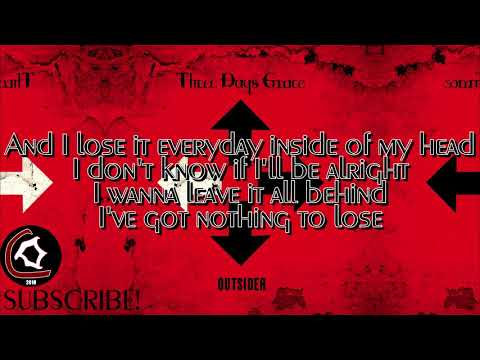 Three Days Grace - Nothing To Lose But You (LYRIC VIDEO) [From the