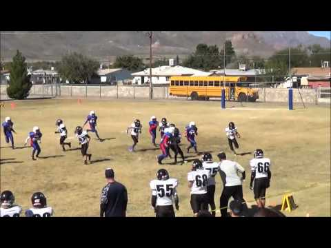 Hornedo Middle School Football Game 8 - 2015