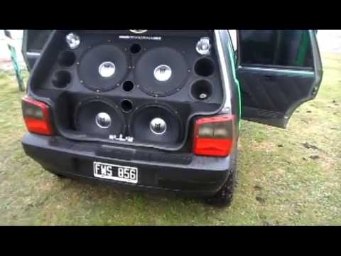 Fiat Uno Monster Sound Youtube