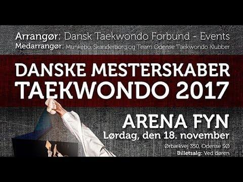 Danske Mesterskaber Taekwondo - 2017 - Poomsae