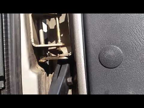 How To Remove And Install Gm Door Hinge Spring Youtube
