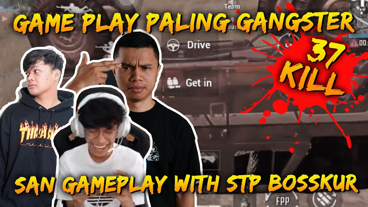 Game Play Paling Gangster With Ombong & Daddy Bosskur | San Gameplay | PUBG Mobile Malaysia