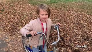 Детский канал N ( может кому будет полезно краткое обучение езды на велосипеде)