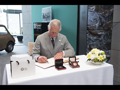 HRH The Prince of Wales visit to The Royal Mint
