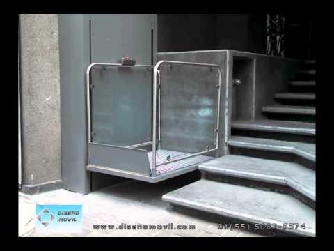 Elevador plataforma salvaescaleras para discapacitados for Plataforma para silla de ruedas