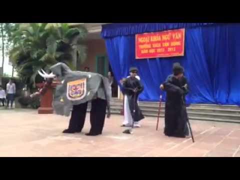 [Ngoại khóa Ngữ Văn] Thầy bói xem voi - Khối 6  Trường trung học Cơ sở Tản Hồng