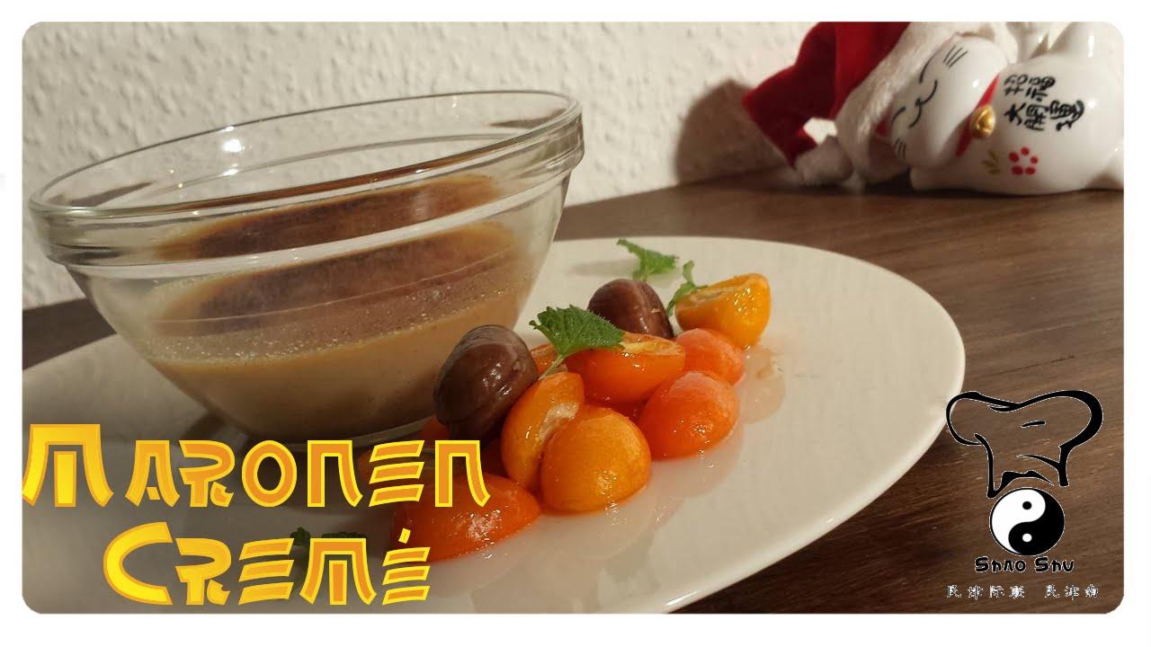 maronen creme brulee selber machen foodtuber adventskalender 24 youtube. Black Bedroom Furniture Sets. Home Design Ideas
