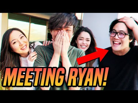 I finally met Ryan Higa... ft. Valkyrae, Sykkuno & friends