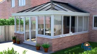 LivinROOF replacement conservatory roof for all year round use