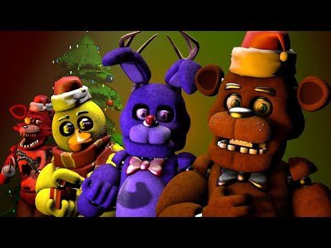 Fnaf Christmas.Sfm Fnaf Merry Fnaf Christmas Song By Jt Music