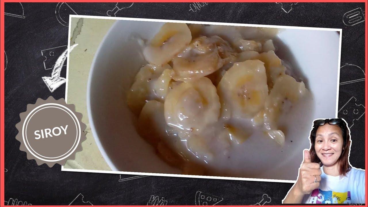 Download How to cook SIROY? ginataang saging na saba