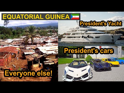 Explore Equatorial Guinea | Billionaire President & Poor Citizens