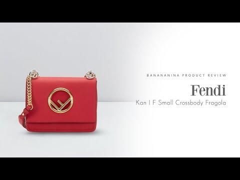 Banananina Product Review: Fendi Kan I F Small Crossbody Fragola