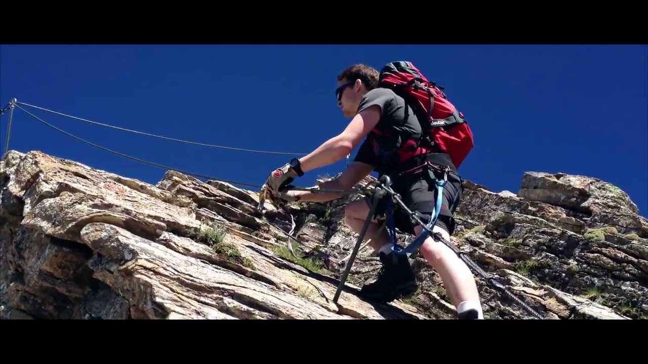 Klettersteig Schwarzhorn : Klettersteig schwarzhorn youtube