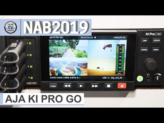 NAB2019: Aja Ki Pro Go