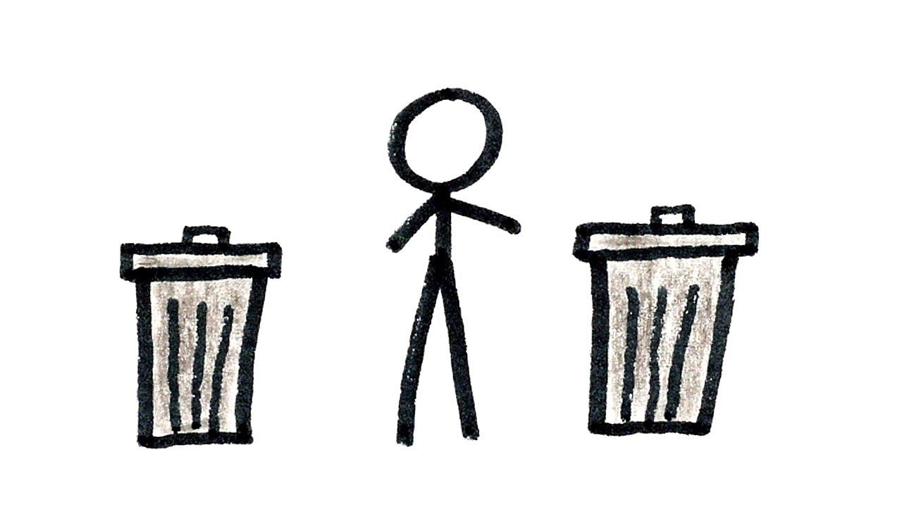 Trash vs  Garbage