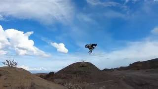 Video riders demonstrate racing control skills motorbike race