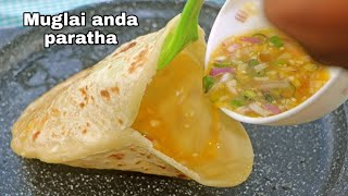 muglhai anda paratha // अंडे का भरवा पराठा // stuff egg paratha // street food