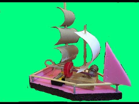 Ev Yapımı Oyuncak Tekne 2  , Oyuncak Tekne Nasıl Yapılır ?