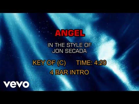 Jon Secada - Angel (Karaoke)