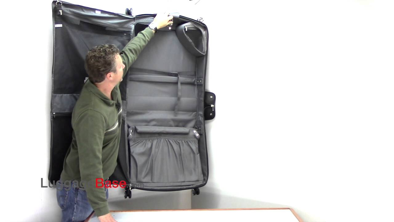 Delsey Helium Cruise Spinner Garment Trolley Bag - YouTube d71d2032f2a36