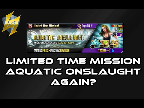 Rage of the Immortals Aquatic Onslaught Limited Time Mission again?