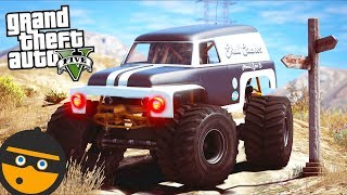GTA 5 Mods - Which Way is the BANK?? (Evade Gameplay)