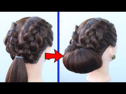 easy-braided-hairstyles-for-party/wedding-||-side-braid-hairstyles-||-hairstyles-|-2019