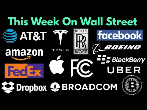 This Week On Wall Street #22 March 25, 2018