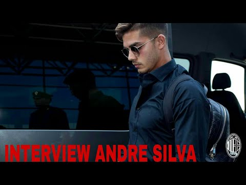 INTERVIEW ANDRE SILVA IN CHINA#AC MILAN 2017