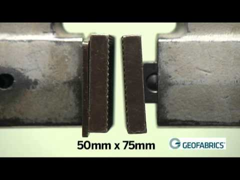 Geotextiles Standard AS 3706.3 - Trapezoidal Tear Test Method