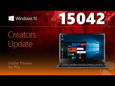 Windows 10 Build 15042 – Картинка в картинке, Динамическая блокировка, Защитник Windows