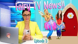 Irish Fairy Doors | Meet our TWO fairies!! | Fairy Valley TV News #5! | WildBrain Cartoons