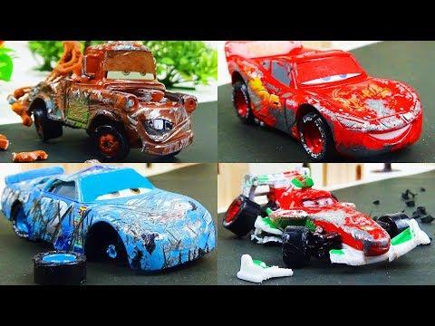Disney Cars Toys Crash Omnibus Vol.1  Stop Motion Animation - Ladybird TV - Видео онлайн