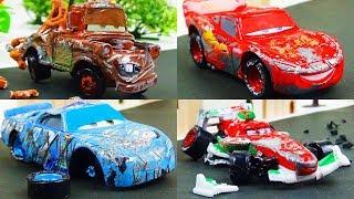 Disney Cars Toys Crash Omnibus Vol.1  Video for Kids
