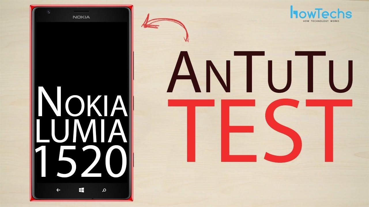 Nokia Lumia 1520 - Antutu test