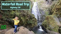 7 Waterfalls from Roseburg to Crater Lake | Highway 138