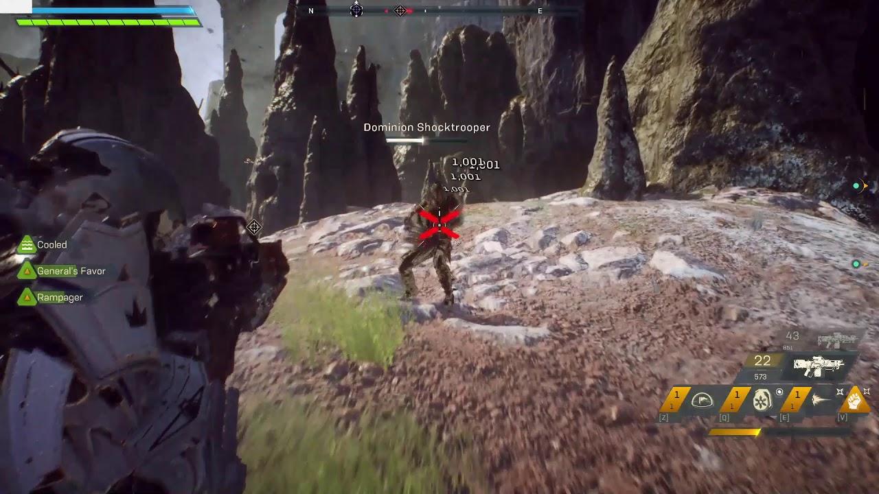Anthem Ranger Gameplay 2020 Youtube
