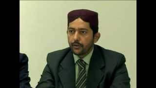 Laiq Ahmed Atif, addressing Press Conference at SOS (P_1)