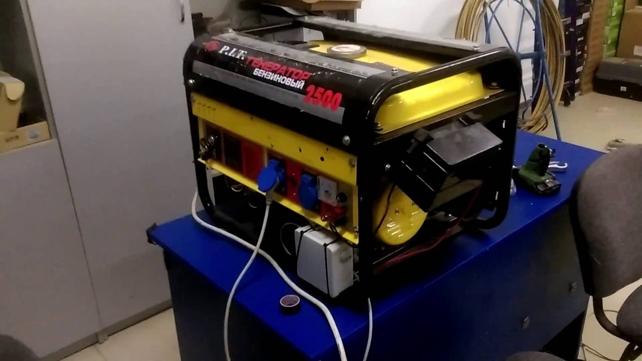 Автоматика генератора своими руками