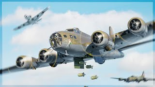 B-17 FLYING FORTRESS CLOSE AIR SUPPORT