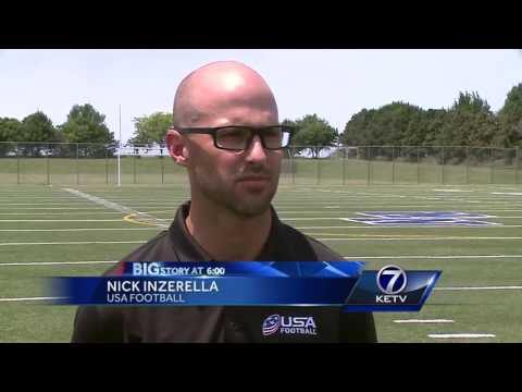 40 Lincoln, Omaha high school football coaches team up for concussion prevention clinic