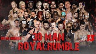 WWE '13 Royal Rumble 2013 Simulation: 30 Man Royal Rumble