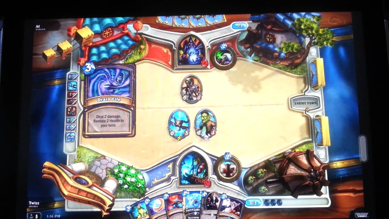 How to Play Hearthstone on Android or other tablets